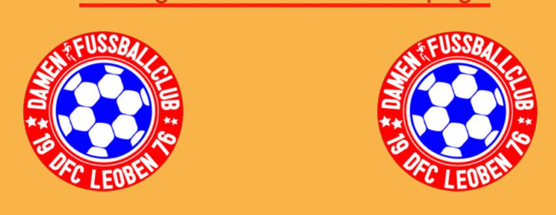 Neue DFC Leoben - Vereinshomepage